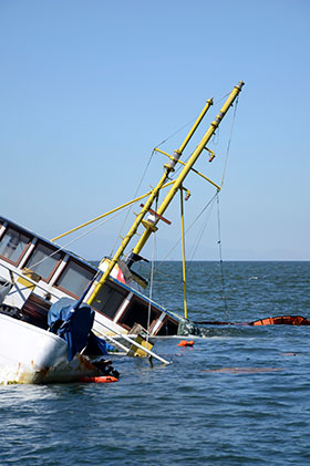 Boat Accident 1
