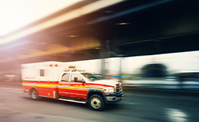 Los Angeles Car Accident Lawyer Ambulance Crash Kills One